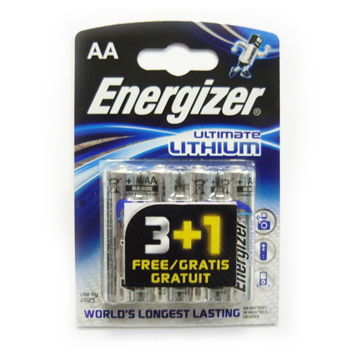 Элемент питания Energizer Ultimate Lithium FR6  BL4 (4/48)